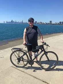OMaley-in-15th-Ride-For-AIDS-Chicago-with-new-bike-old-memories