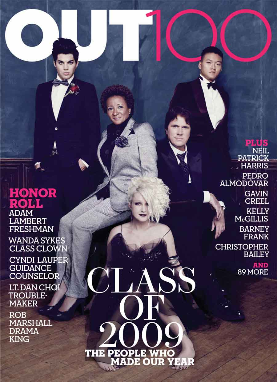 2624 - Adam Lambert a star of Out magazine's Out 100 Awards - Gay Lesbian  Bi Trans News Archive - Windy City Times