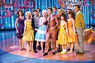 Billy Masters has a thing or two to say about the recent NBC special Hairspray Live! Photo of Garrett Clayton, Dove Cameron and Derek Hough (from left, in front) by Paul Drinkwater/NBC