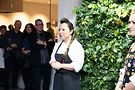 Executive Chef Mari Katsumura at Yugen opening Dec. 5. Photo by Leigh Loftus