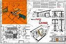 The winning design, 'A House for Living In,' by Howell, Stousland and Sandberg