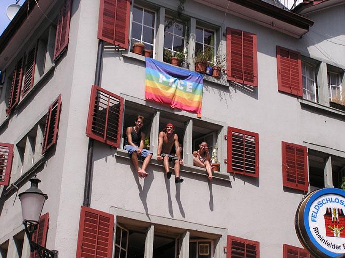 2487 - Zurich Switzerland Street Fair continued - Gay Lesbian Bi