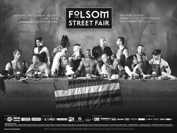 Gay bi street posters