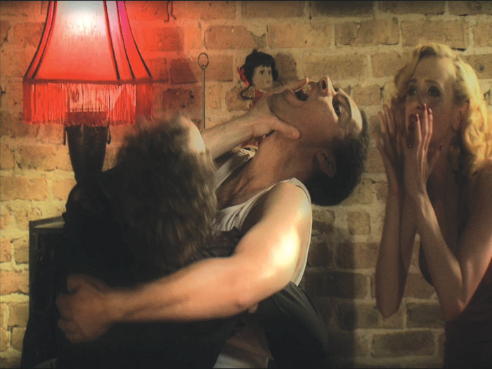 Wild lesbian party