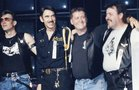 IML 1988 co-producers Ron Ehemann, Chuck Renslow, Gary Chichester and RJ Chaffin onstage at IML. Photo courtesy of RJ Chaffin