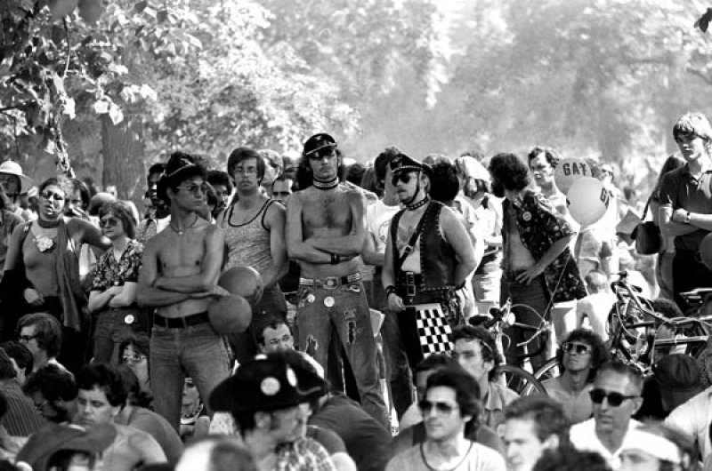 Photo of Chicago Gay Day, circa early 1970s by A.J. Epstein