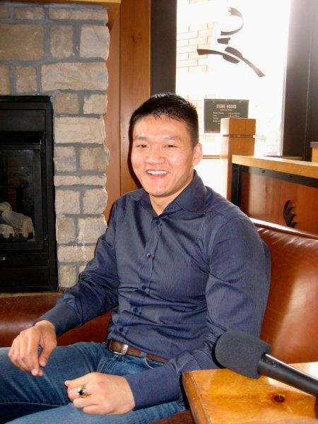 Photo of Dan Choi by John Fenoglio