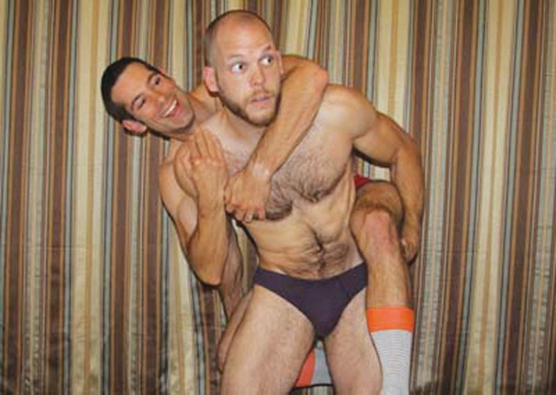 Real gay wrestling