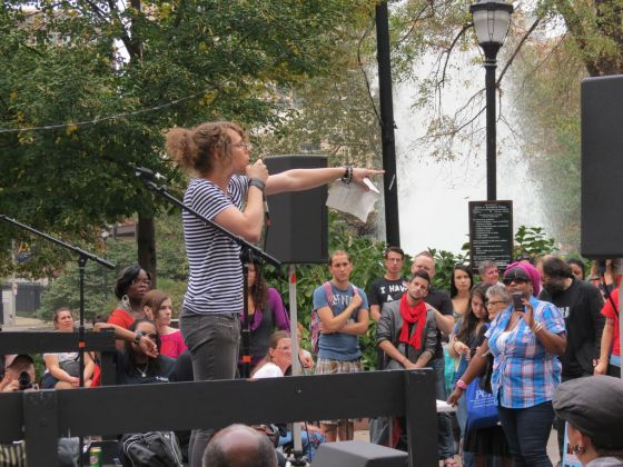 Philadelphia transgender march on Oct. 6. Photos by Jerry Nunn