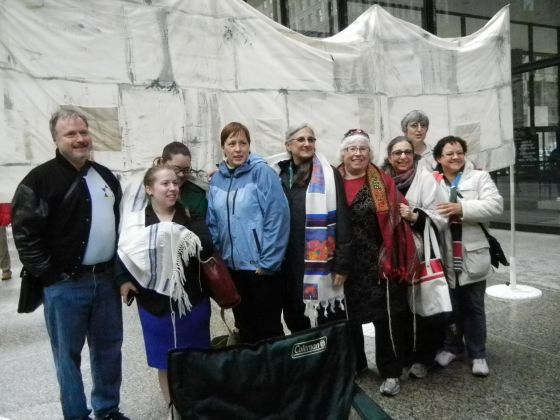 Jewish LGBT group part of women's solidarity action