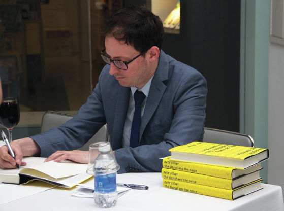 Nate Silver talks statistics, politics during Chicago visit