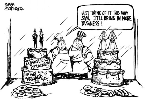gender discrimination cartoons