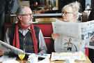 Jim Broadbent and Lindsay Duncan in Le Week-End. Photo from Music Box Films
