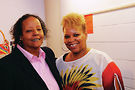 Dr. Nancy Jackson and C.C. Carter. Photo by Hal Baim