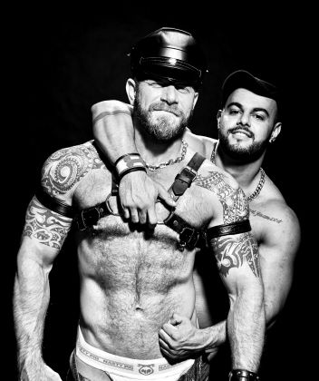 Gay leather and bear events