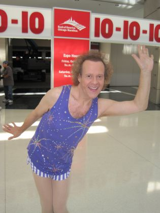 Richard Simmons; Anderson Cooper pranked; Hot in Cleveland ending