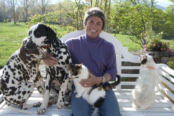 'Rubyfruit' Author Rita Mae Brown in Chicago Dec. 9