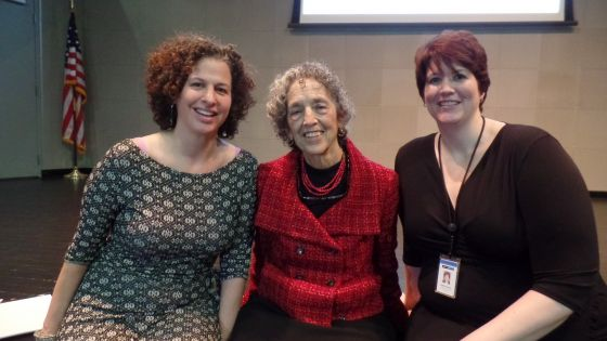 Ruth Messinger talks human-rights issues, justice
