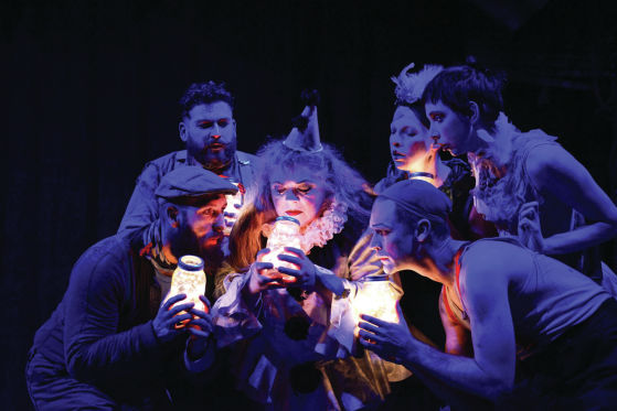 THEATER REVIEW  Burning  Bluebeard