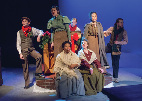 THEATER REVIEW Sherlock Holmes and the Case of the  Christmas Goose
