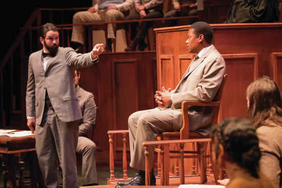 THEATER REVIEW The Trial of Moses Fleetwood Walker