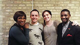 From left: TJLP collective members Monica James, Owen Daniel-McCarter, Lark Mulligan and Myles Brady. Photo by Gretchen Rachel Hammond