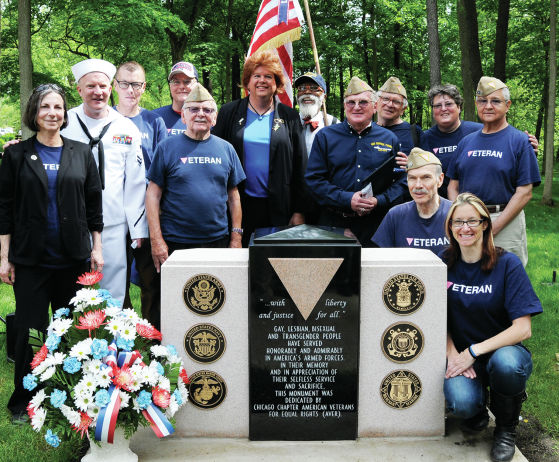 First federally approved LGBT Veterans Monument unveiled