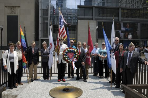 City-of-Chicago-Salute-LGBT-veterans-held-at-Daley-Plaza