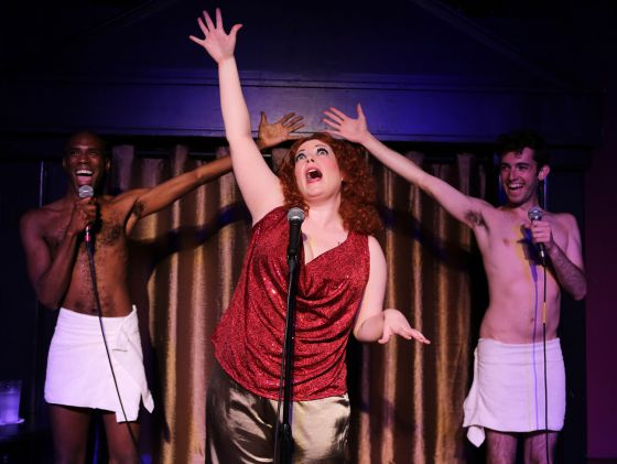 THEATER REVIEW  Bette! Live at the  Continental Baths