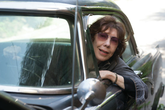Actor Lily Tomlin talks 'Grandma,' 'Grace' and being grateful