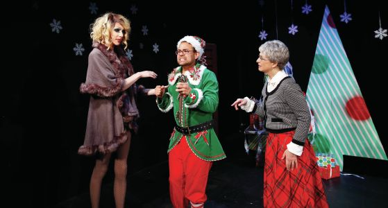 Theater Review Barney The Elf Everyblock Chicago