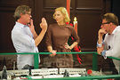 Director Todd Haynes and star Cate Blanchett on the set of Carol.Photo from Weinstein