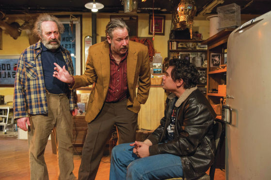 THEATER REVIEW American Buffalo