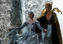 Emily Blunt (left) and Charlize Theron in The Huntsman: Winter's War.