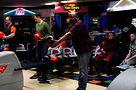 Darrick Johnson bowls at the event. Photo by Hal Baim