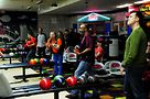 Bowlers at the event. Photo by Hal Baim