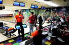 Leather 64 Ten team bowlers. Photo by Hal Baim
