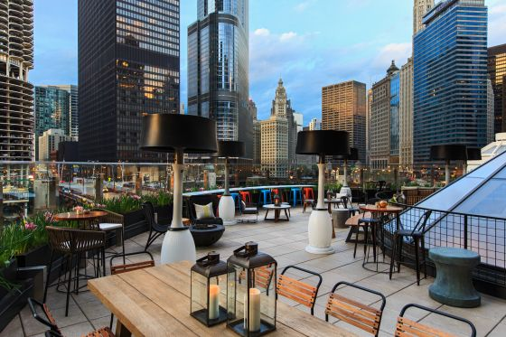 869 Around Chicago Hotel Bar Raised Opens At