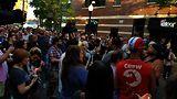 Andersonville vigil. Photo by Terri Klinsky.