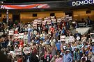 Anti-TPP delegates. Photo by Michael Key, Washington Blade