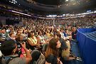 Delegates at DNC. Photo by Michael Key, Washington Blade