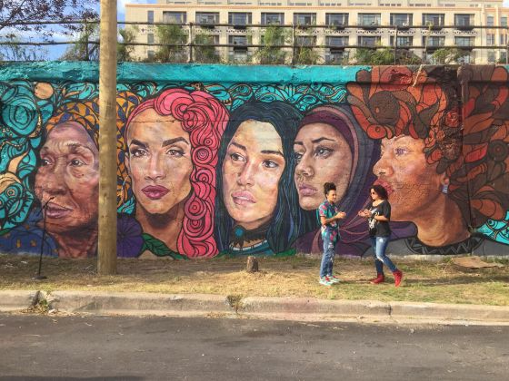 18861 mural tribute to women including trans unveiled for Chicago mural group