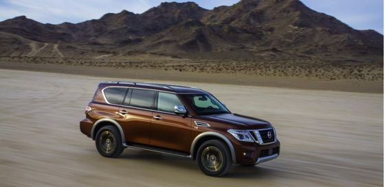 VEHICLE REVIEW 2017 Nissan Armada: really huge, really cozy and really gay