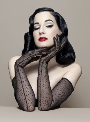 That necessary, dita von teese lesbian And
