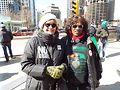 Demonstrators at Chicago International Women's Day March. Photo by Gretchen Rachel Hammond