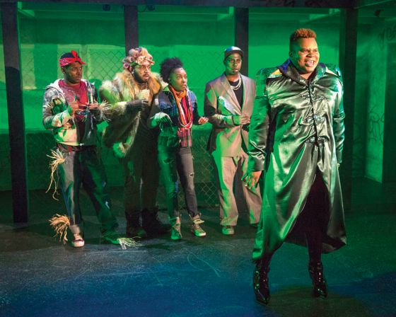 THEATER REVIEW The Wiz