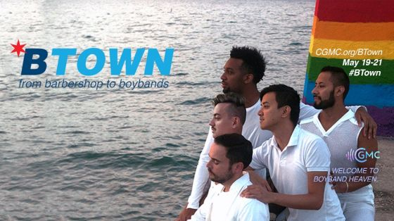 Chicago Gay Men's Chorus to present B-Town: From Barbershop to Boybands