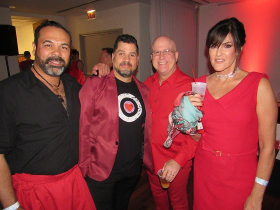 Center hosts Red Dress Party