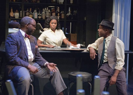 THEATER REVIEW Paradise Blue