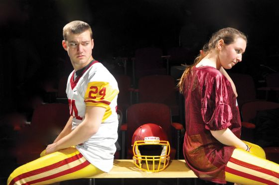THEATER REVIEW Tight End